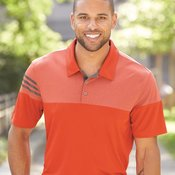 Heathered 3-Stripes Colorblock Sport Shirt