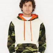 Fashion Camo Hooded Sweatshirt