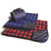 Polyester/Nylon Patterned Picnic Blanket
