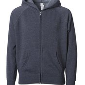 Youth Lightweight Special Blend Raglan Zip Hood
